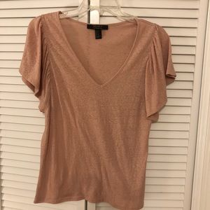 Forever 21 Blush Cotton Tee